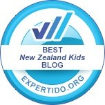 Voted Best New Zealand Kids BLOG by Expertido