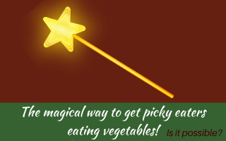 The magical way to get picky eaters eating vegetables #pickyeater #pickyeating #fussyeater #fussyeating #fussyeaters #judithyeabsley #theconfidenteater.com
