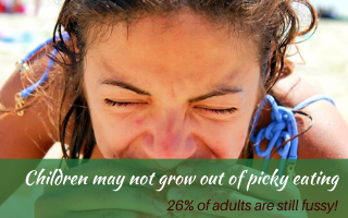 Anyone who works with the families of children who struggle to eat comfortably knows that there are many children who may not grow out of it. In fact, often children with extreme reactions to food get gradually worse, not better. Current estimates are that up to 10% of children have issues so severe they will never grow out of them without intervention. #supportingapickyeater #supportingafussyeater #pickyeater # pickyeating #fussyeating #judithyeabsley #fussyeater #theconfidenteater