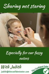 "Sharing not staring, especially for our fussy eaters Anyone who has followed me for any length of time will know that this is one of my ""catch cries"" when it comes to food for any child, picky or not. Sharing not staring is a really important concept for our fussy eaters and yet, all the advertising we see shows us the opposite! #supportingapickyeater #supportingafussyeater #pickyeater # pickyeating #helppickyeater #helpfussyeater #helpingpickyeater #helpingfussyeater #helppickyeating #helpfussyeating #fussyeating #judithyeabsley #fussyeater #theconfidenteater #addingfoods #wellington #NZ"
