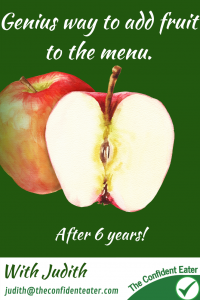 Genius way to get a picky eater eating fruit! I love hearing happy endings from parents of picky eaters, especially when they have a child that is really struggling around food. This is one of my favourite stories as mum is a marketing expert and used her skills masterfully to support her daughter to accept an apple in her lunchbox for the first time #pickyeater #foodforpickyeaters # pickyeating #fussyeating #foodforfussyeaters #judithyeabsley #fussyeater #theconfidenteater #eatfruit #eatingfruit #addingfruit #eatmorefruit #eatingmorefruit #eatveggies #eatingveggies #eatmoreveggies #eatvegetables #eatingvegetables #eatingmorevegetables #recipesforpickyeaters #recipesforpickyeater #recipeforfussyeater #recipesforfussyeater #wellington #NZ
