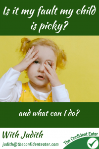 Is it my fault my child is picky? I always ask parents why they think their child struggles to eat. Many give me a list of all the things they feel they have done wrong. Others really struggle to give an answer as food has just always seemed so challenging for their child. #supportingapickyeater #supportingafussyeater #pickyeater # pickyeating #helppickyeater #helpfussyeater #helpingpickyeater #helpingfussyeater #helppickyeating #helpfussyeating #fussyeating #judithyeabsley #fussyeater #theconfidenteater #addingfoods #wellington #NZ