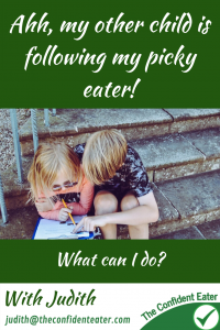 Silbing following a picky eater #Siblings #supportingapickyeater #supportingafussyeater #pickyeater # pickyeating #helppickyeater #helpfussyeater #helpingpickyeater #helpingfussyeater #helppickyeating #helpfussyeating #fussyeating #judithyeabsley #fussyeater #theconfidenteater #addingfoods #wellington #NZ #creatingconfidenteaters