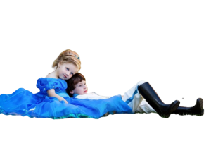 Prince & Princess #kidsincharge