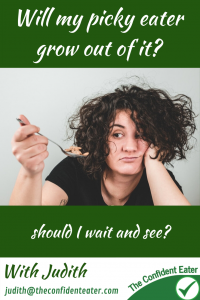 Will my picky eater grow out of it? #supportingapickyeater #supportingafussyeater #pickyeater # pickyeating #helppickyeater #helpfussyeater #helpingpickyeater #helpingfussyeater #helppickyeating #helpfussyeating #fussyeating #judithyeabsley #fussyeater #theconfidenteater #addingfoods #wellington #NZ #creatingconfidenteaters #facebookgroup