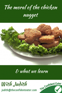 The moral of the chicken nugget #pickyeater #pickyeating #fussyeater #fussyeating #selectiveating #judithyeabsley #wellingtonNZ #pickyeatingconsultant #creatingconfidenteaters #theconfidenteater #foodrigidity #supportforpickyeating