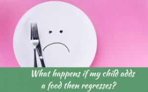 Why do picky eaters add foods then regress? #helpforpickyeaters, #helpforpickyeating, #Foodforpickyeaters, #theconfidenteater, #wellington, #NZ, #judithyeabsley, #helpforfussyeating, #helpforfussyeaters, #fussyeater, #fussyeating, #pickyeater, #picky eating, #supportforpickyeaters, #theconfidenteater, #winnerwinnerIeatdinner, #creatingconfidenteaters, #newfoods, #bookforpickyeaters, #thecompleteconfidenceprogram, #thepickypack,