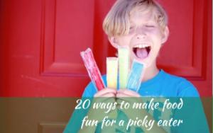 20 ways to make food fun for a picky eater #makingfoodfun, #WinnerWinnerIEatDinner, #helpforpickyeaters, #helpforpickyeating, #Foodforpickyeaters, #theconfidenteater, #wellington, #NZ, #judithyeabsley, #helpforfussyeating, #helpforfussyeaters, #fussyeater, #fussyeating, #pickyeater, #pickyeating, #supportforpickyeaters, #winnerwinnerIeatdinner, #creatingconfidenteaters, #newfoods, #bookforpickyeaters, #thecompleteconfidenceprogram, #thepickypack