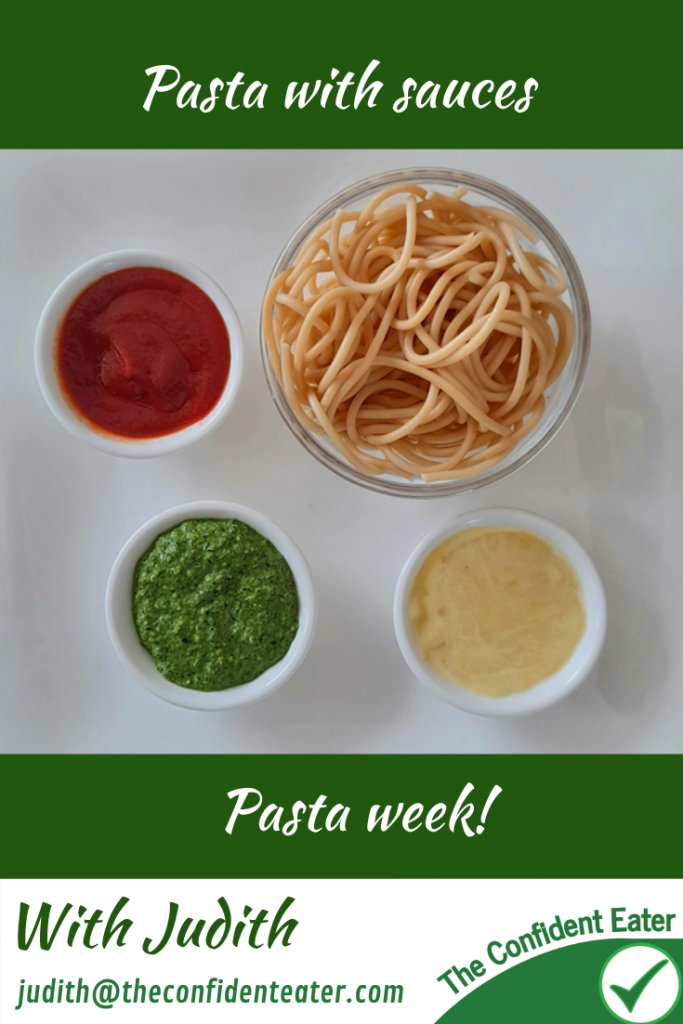 Pasta sauces for picky eaters and fussy eaters #pastasauce, #pastasauceforpickyeaters, #pastasauceforfussyeaters, #pastarecipes, #funpasta, #pastaforpickyeaters, #pastaforfussyeaters, #funfoodsforpickyeaters, #funfoodsdforfussyeaters, #Recipesforpickyeaters, #helpforpickyeaters, #helpforpickyeating, #Foodforpickyeaters, #theconfidenteater, #wellington, #NZ, #judithyeabsley, #helpforfussyeating, #helpforfussyeaters, #fussyeater, #fussyeating, #pickyeater, #pickyeating, #supportforpickyeaters, #winnerwinnerIeatdinner, #creatingconfidenteaters, #newfoods, #bookforpickyeaters, #thecompleteconfidenceprogram, #thepickypack