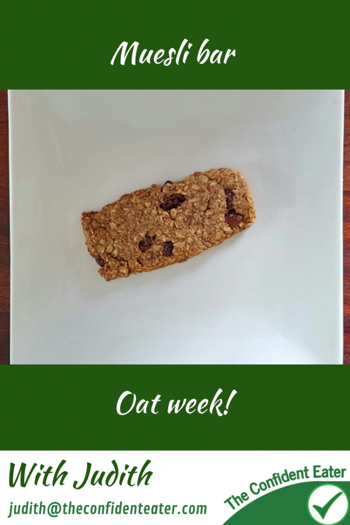 Muesli bar, recipes for getting picky eaters and fussy eaters eating #mueslibar, #oatrecipes, #funfoodsforpickyeaters, #funfoodsdforfussyeaters, #Recipesforpickyeaters, #helpforpickyeaters, #helpforpickyeating, #Foodforpickyeaters, #theconfidenteater, #wellington, #NZ, #judithyeabsley, #helpforfussyeating, #helpforfussyeaters, #fussyeater, #fussyeating, #pickyeater, #pickyeating, #supportforpickyeaters, #winnerwinnerIeatdinner, #creatingconfidenteaters, #newfoods, #bookforpickyeaters, #thecompleteconfidenceprogram, #thepickypack
