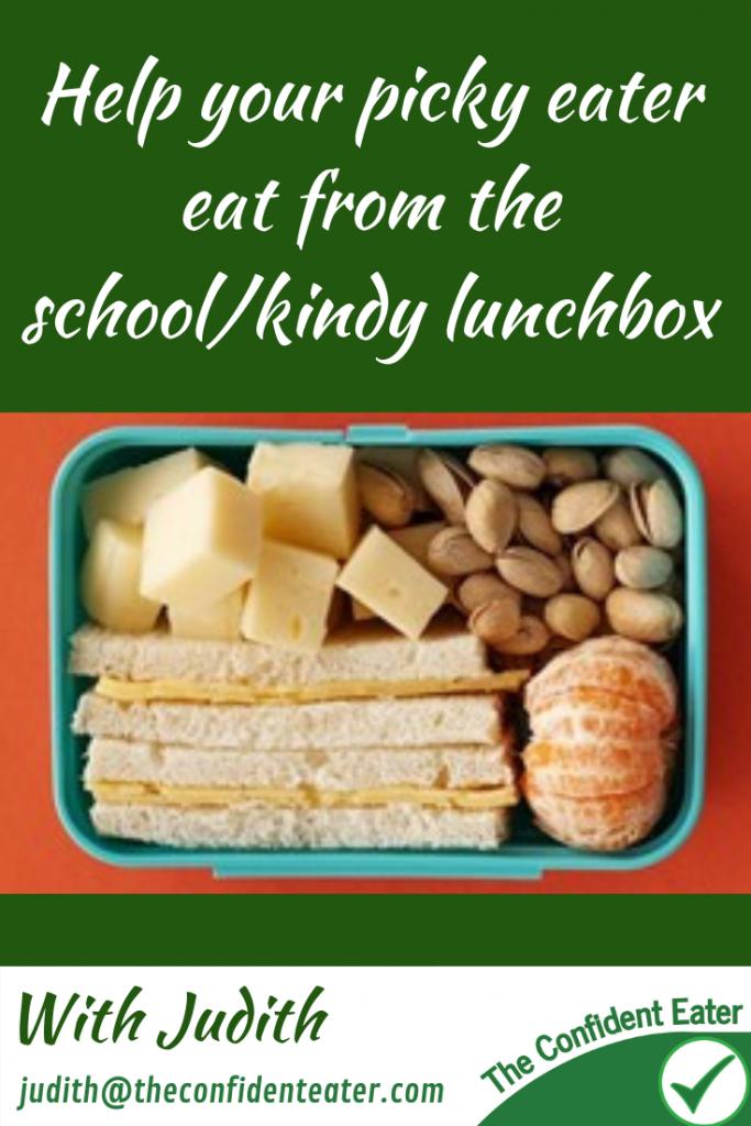 Help your picky eater eat the school/kindy lunchbox #helpforpickyeaters, #helpforpickyeating, #Foodforpickyeaters, #theconfidenteater, #wellington, #NZ, #judithyeabsley, #helpforfussyeating, #helpforfussyeaters, #fussyeater, #fussyeating, #pickyeater, #pickyeating, #supportforpickyeaters, #winnerwinnerIeatdinner, #creatingconfidenteaters, #newfoods, #bookforpickyeaters, #thecompleteconfidenceprogram, #thepickypack, #Recipesforpickyeaters