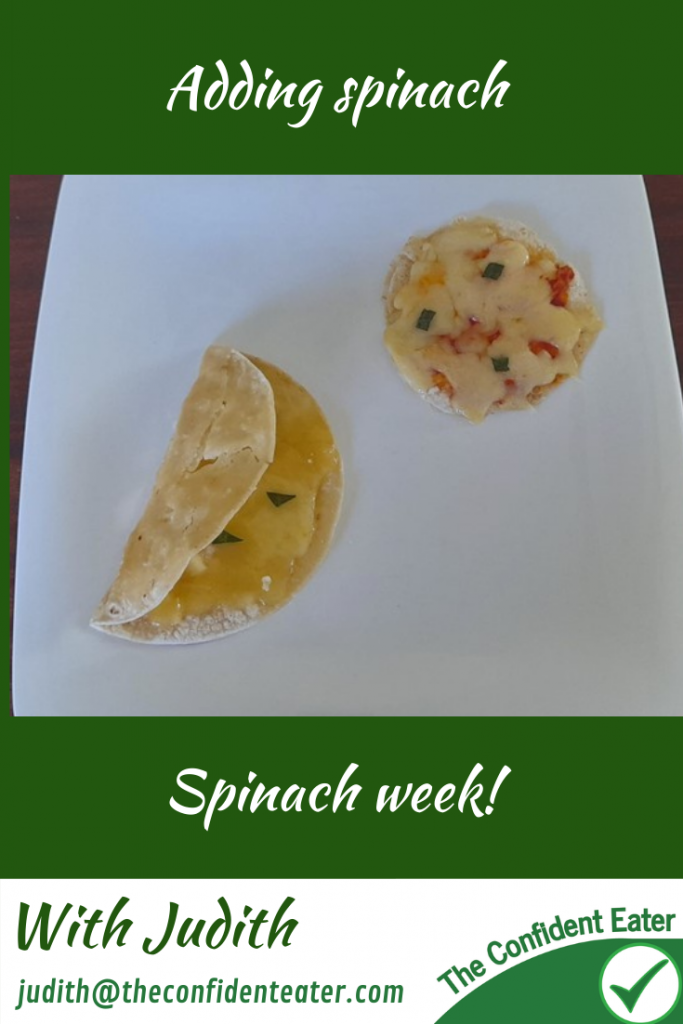 Spinach, recipes for picky eaters and fussy eaters #addingspinach, #spinach, #funspinach, #spinachrecipe, #funfoodsforpickyeaters, #funfoodsdforfussyeaters, #Recipesforpickyeaters, #helpforpickyeaters, #helpforpickyeating, #Foodforpickyeaters, #theconfidenteater, #wellington, #NZ, #judithyeabsley, #helpforfussyeating, #helpforfussyeaters, #fussyeater, #fussyeating, #pickyeater, #pickyeating, #supportforpickyeaters, #winnerwinnerIeatdinner, #creatingconfidenteaters, #newfoods, #bookforpickyeaters, #thecompleteconfidenceprogram, #thepickypack