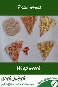 Pizza wraps. Great way to help fussy or picky eaters eat pizza #wraps, #funfoodsforpickyeaters, #funfoodsdforfussyeaters, #Recipesforpickyeaters, #helpforpickyeaters, #helpforpickyeating, #Foodforpickyeaters, #theconfidenteater, #wellington, #NZ, #judithyeabsley, #helpforfussyeating, #helpforfussyeaters, #fussyeater, #fussyeating, #pickyeater, #pickyeating, #supportforpickyeaters, #winnerwinnerIeatdinner, #creatingconfidenteaters, #newfoods, #bookforpickyeaters, #thecompleteconfidenceprogram, #thepickypack