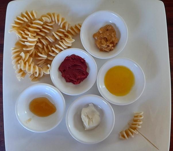 Pasta with dips #pastaanddips, #funpasta, #pastaforpickyeaters, #pastaforfussyeaters, #funfoodsforpickyeaters, #funfoodsdforfussyeaters, #Recipesforpickyeaters, #helpforpickyeaters, #helpforpickyeating, #Foodforpickyeaters, #theconfidenteater, #wellington, #NZ, #judithyeabsley, #helpforfussyeating, #helpforfussyeaters, #fussyeater, #fussyeating, #pickyeater, #pickyeating, #supportforpickyeaters, #winnerwinnerIeatdinner, #creatingconfidenteaters, #newfoods, #bookforpickyeaters, #thecompleteconfidenceprogram, #thepickypack