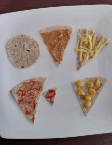 Pizza wraps. Great way to help fussy or picky eaters eat pizza #pizzawraps #wraps, #funfoodsforpickyeaters, #funfoodsdforfussyeaters, #Recipesforpickyeaters, #helpforpickyeaters, #helpforpickyeating, #Foodforpickyeaters, #theconfidenteater, #wellington, #NZ, #judithyeabsley, #helpforfussyeating, #helpforfussyeaters, #fussyeater, #fussyeating, #pickyeater, #pickyeating, #supportforpickyeaters, #winnerwinnerIeatdinner, #creatingconfidenteaters, #newfoods, #bookforpickyeaters, #thecompleteconfidenceprogram, #thepickypack