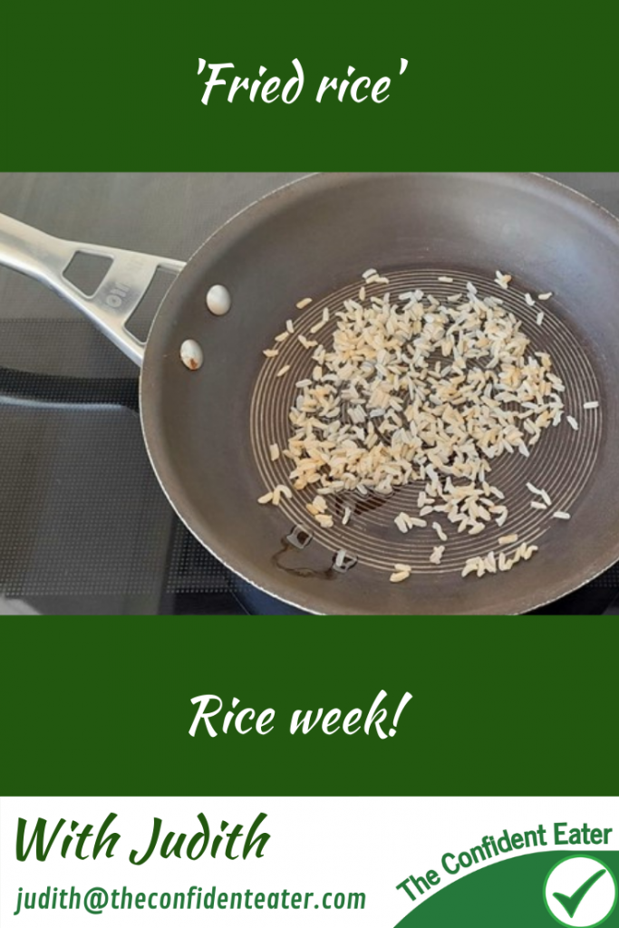 Fried rice - recipe for picky eaters and fussy eaters #friedrice #funrice, #ricerecipe, #funfoodsforpickyeaters, #funfoodsdforfussyeaters, #Recipesforpickyeaters, #helpforpickyeaters, #helpforpickyeating, #Foodforpickyeaters, #theconfidenteater, #wellington, #NZ, #judithyeabsley, #helpforfussyeating, #helpforfussyeaters, #fussyeater, #fussyeating, #pickyeater, #pickyeating, #supportforpickyeaters, #winnerwinnerIeatdinner, #creatingconfidenteaters, #newfoods, #bookforpickyeaters, #thecompleteconfidenceprogram, #thepickypack
