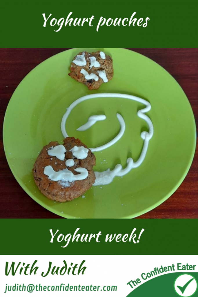 Yoghurt pouches - recipes for picky eaters and fussy eaters #yoghurtpouches, #funyoghurt, #yoghurtrecipe, #funfoodsforpickyeaters, #funfoodsdforfussyeaters, #Recipesforpickyeaters, #helpforpickyeaters, #helpforpickyeating, #Foodforpickyeaters, #theconfidenteater, #wellington, #NZ, #judithyeabsley, #helpforfussyeating, #helpforfussyeaters, #fussyeater, #fussyeating, #pickyeater, #pickyeating, #supportforpickyeaters, #winnerwinnerIeatdinner, #creatingconfidenteaters, #newfoods, #bookforpickyeaters, #thecompleteconfidenceprogram, #thepickypack