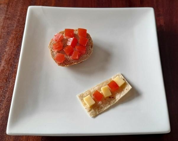 Tomato bruschetta – Tomato recipes for picky eaters and fussy eaters #bruschettatomatoes, #tomatorecipesforpickyeaters, #tomatorecipesforfussyeaters #funtomatorecipes, #funfoodsforpickyeaters, #funfoodsdforfussyeaters, #Recipesforpickyeaters, #helpforpickyeaters, #helpforpickyeating, #Foodforpickyeaters, #theconfidenteater, #wellington, #NZ, #judithyeabsley, #helpforfussyeating, #helpforfussyeaters, #fussyeater, #fussyeating, #pickyeater, #pickyeating, #supportforpickyeaters, #winnerwinnerIeatdinner, #creatingconfidenteaters, #newfoods, #bookforpickyeaters, #thecompleteconfidenceprogram, #thepickypack