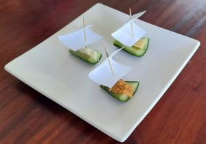Cucumber boats – helping picky eaters and fussy eaters with fun ways to try new foods #cucumberboats #funcucumberideas #cucumberrecipes #trynewfoods #funfoodsforpickyeaters, #funfoodsdforfussyeaters, #Recipesforpickyeaters, #helpforpickyeaters, #helpforpickyeating, #Foodforpickyeaters, #theconfidenteater, #wellington, #NZ, #judithyeabsley, #helpforfussyeating, #helpforfussyeaters, #fussyeater, #fussyeating, #pickyeater, #pickyeating, #supportforpickyeaters, #winnerwinnerIeatdinner, #creatingconfidenteaters, #newfoods, #bookforpickyeaters, #thecompleteconfidenceprogram, #thepickypack