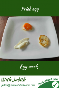 Fried egg – for picky eaters and fussy eaters #friedeggs, #eggrecipes, #eggideas, #trynewfoods, #funfoodsforpickyeaters, #funfoodsdforfussyeaters, #Recipesforpickyeaters, #helpforpickyeaters, #helpforpickyeating, #Foodforpickyeaters, #theconfidenteater, #wellington, #NZ, #judithyeabsley, #helpforfussyeating, #helpforfussyeaters, #fussyeater, #fussyeating, #pickyeater, #pickyeating, #supportforpickyeaters, #winnerwinnerIeatdinner, #creatingconfidenteaters, #newfoods, #bookforpickyeaters, #thecompleteconfidenceprogram, #thepickypack