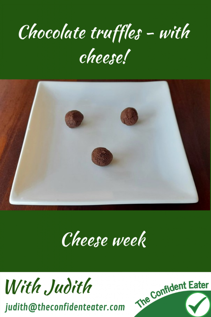 Chocolate truffles with cream cheese – cheese recipes for picky eaters and fussy eaters, #choccheesertruffles, #chocolatetruffles, #cheeserecipes, #cheeseideas, #trynewfoods, #funfoodsforpickyeaters, #funfoodsdforfussyeaters, #Recipesforpickyeaters, #helpforpickyeaters, #helpforpickyeating, #Foodforpickyeaters, #theconfidenteater, #wellington, #NZ, #judithyeabsley, #helpforfussyeating, #helpforfussyeaters, #fussyeater, #fussyeating, #pickyeater, #pickyeating, #supportforpickyeaters, #winnerwinnerIeatdinner, #creatingconfidenteaters, #newfoods, #bookforpickyeaters, #thecompleteconfidenceprogram, #thepickypack