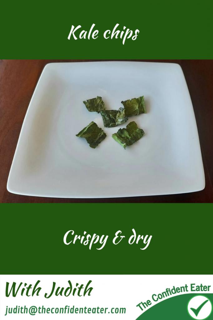 Crispy kale chips #kalechips, #crispykale, #kale, #trynewfoods, #funfoodsforpickyeaters, #funfoodsdforfussyeaters, #Recipesforpickyeaters, #helpforpickyeaters, #helpforpickyeating, #Foodforpickyeaters, #theconfidenteater, #wellington, #NZ, #judithyeabsley, #helpforfussyeating, #helpforfussyeaters, #fussyeater, #fussyeating, #pickyeater, #pickyeating, #supportforpickyeaters, #winnerwinnerIeatdinner, #creatingconfidenteaters, #newfoods, #bookforpickyeaters, #thecompleteconfidenceprogram, #thepickypack