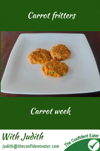 Carrot fritters #carrotfritters, #carrotrecipes, #trynewfoods, #funfoodsforpickyeaters, #funfoodsdforfussyeaters, #Recipesforpickyeaters, #helpforpickyeaters, #helpforpickyeating, #Foodforpickyeaters, #theconfidenteater, #wellington, #NZ, #judithyeabsley, #helpforfussyeating, #helpforfussyeaters, #fussyeater, #fussyeating, #pickyeater, #pickyeating, #supportforpickyeaters, #winnerwinnerIeatdinner, #creatingconfidenteaters, #newfoods, #bookforpickyeaters, #thecompleteconfidenceprogram, #thepickypack