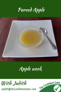 Apple puree – for fussy eaters #applepuree, #applerecipesforfussyeaters, #applerecipesforpickyeaters, #coleslaw, #carrotcoleslaw #carrotrecipes, #trynewfoods, #funfoodsforpickyeaters, #funfoodsdforfussyeaters, #Recipesforpickyeaters, #helpforpickyeaters, #helpforpickyeating, #Foodforpickyeaters, #theconfidenteater, #wellington, #NZ, #judithyeabsley, #helpforfussyeating, #helpforfussyeaters, #fussyeater, #fussyeating, #pickyeater, #pickyeating, #supportforpickyeaters, #winnerwinnerIeatdinner, #creatingconfidenteaters, #newfoods, #bookforpickyeaters, #thecompleteconfidenceprogram, #thepickypack