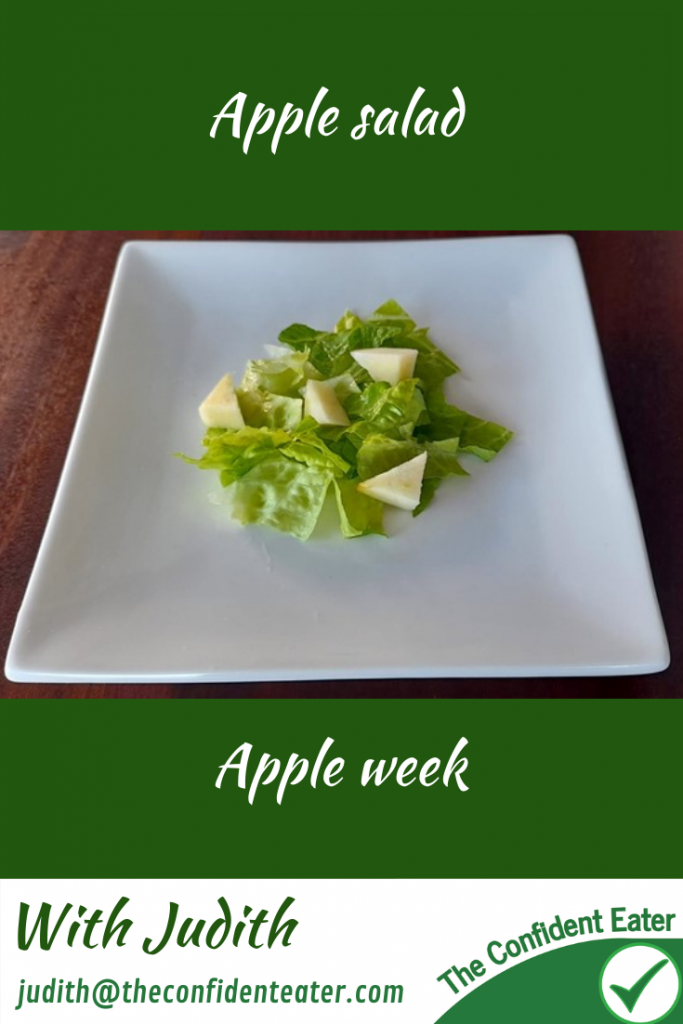 Apple salad – for fussy eaters #applesalad, #applerecipesforfussyeaters, #applerecipesforpickyeaters, #coleslaw, #carrotcoleslaw #carrotrecipes, #trynewfoods, #funfoodsforpickyeaters, #funfoodsdforfussyeaters, #Recipesforpickyeaters, #helpforpickyeaters, #helpforpickyeating, #Foodforpickyeaters, #theconfidenteater, #wellington, #NZ, #judithyeabsley, #helpforfussyeating, #helpforfussyeaters, #fussyeater, #fussyeating, #pickyeater, #pickyeating, #supportforpickyeaters, #winnerwinnerIeatdinner, #creatingconfidenteaters, #newfoods, #bookforpickyeaters, #thecompleteconfidenceprogram, #thepickypack