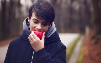 Boy-with-Apple---The-Confident-Eater