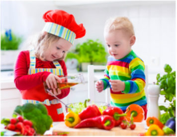 The Confident Eater children cooking